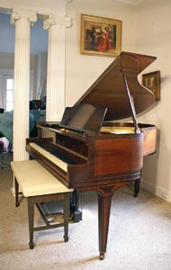 George Steck Baby Grand