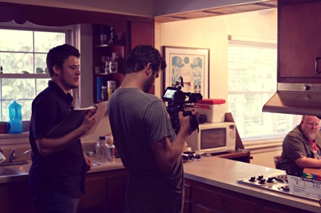 Directing SON OF CLOWNS BEHIND THE SCENES EVAN NED ERIC