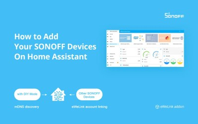 How to Add Your SONOFF Devices On Home Assistant