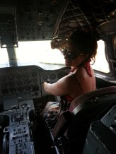 The pilot at one stage had to step down and tasked me with the most serious job of them all....