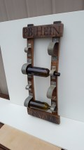 Stave Wine Rack Personalized SWR-P