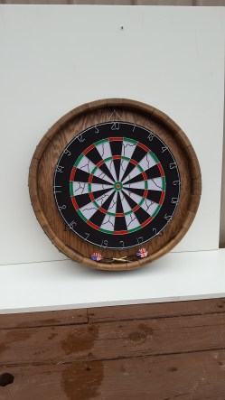 Barrel Head Dart Board WDB