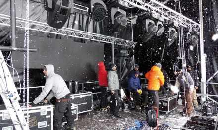 Une scène sur la neige?