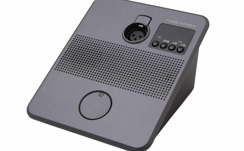 Audio-Technica ATUC-50INT, poste interprète pour système de conférence numérique