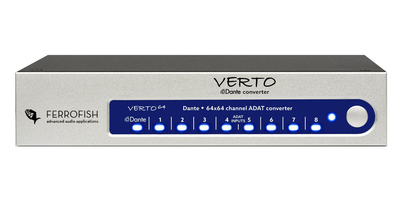 Ferrofish, outils de conversion analogique/Adat/Dante