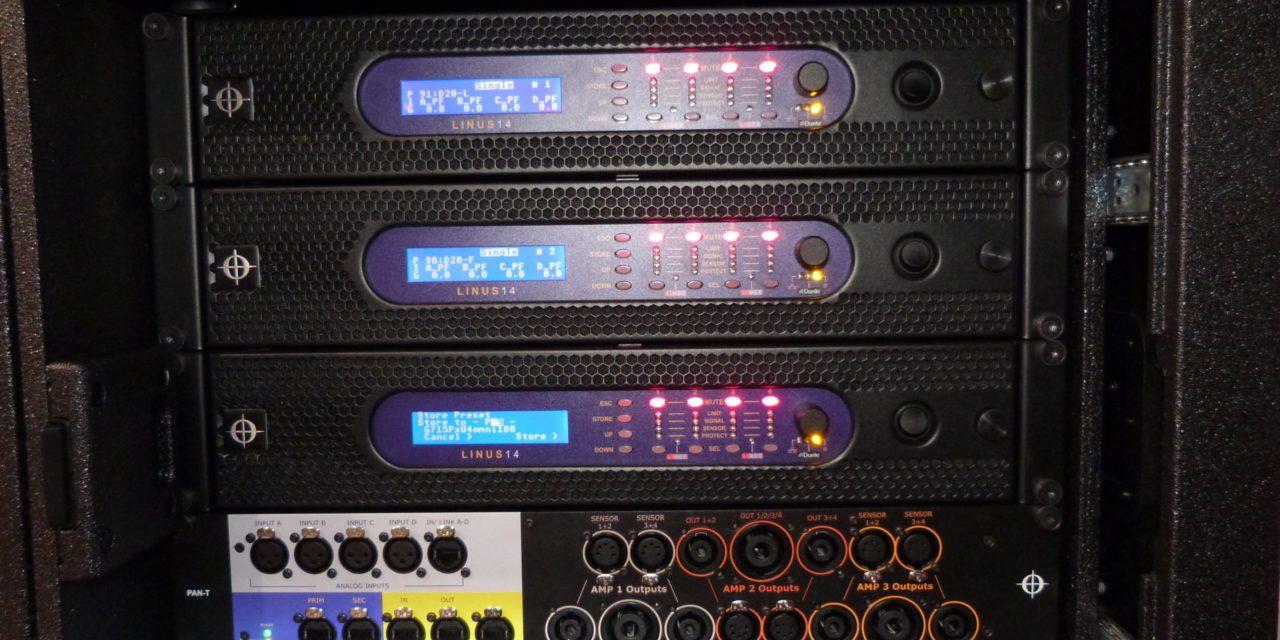 Coda Audio T-Rack et M-Rack, racks amplification