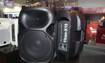 Wharfedale Pro Audio Titan AX, enceintes actives