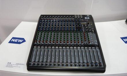RCF Consoles Série E, console de mixage