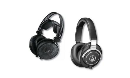 AUDIO-TECHNICA ATH-R70x et ATH-M70x
