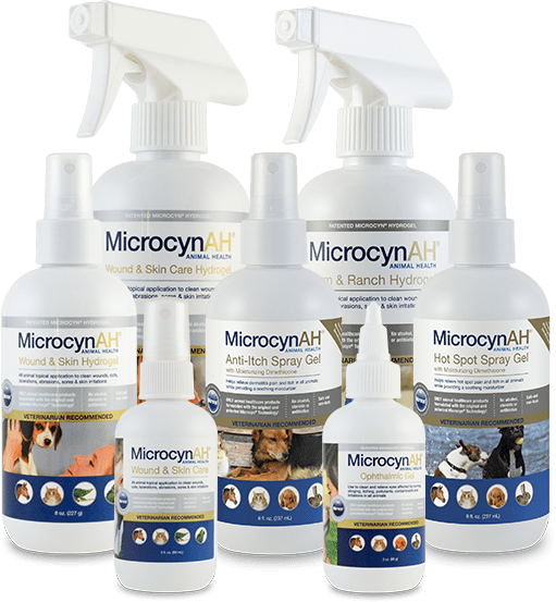 MicrocynAH animal health products