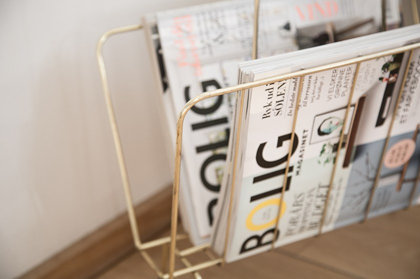 Magazine holder - Kähler bord