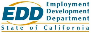 "Employment Development Department (EDD) Logo ""State of California"""