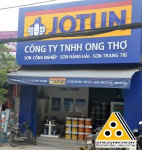 Sơn dầu Alkyd Jotun mua ở đại lý sơn công nghiệp nào tại TPHCM?