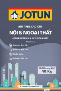 Một bao bột trét Jotun nội ngoại thất được bao nhiêu m2?