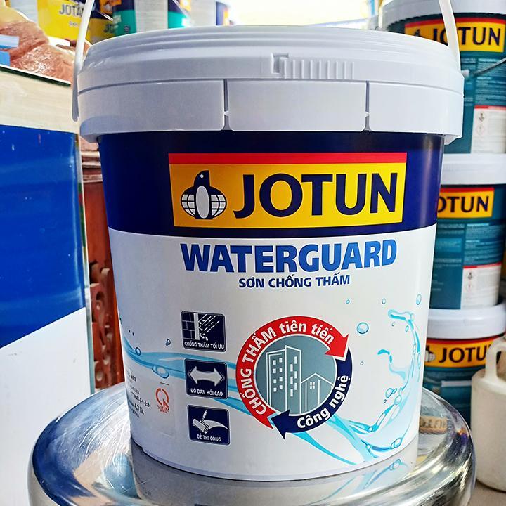 Giá sơn chống thấm Jotun Waterguard bao nhiêu 1 thùng