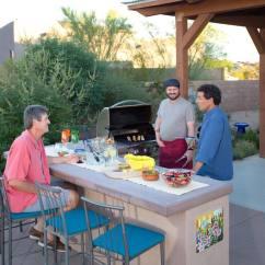 Complete Outdoor Kitchen Kits Island Pendants Kitchens Tucson Az Sonoran Gardens Inc
