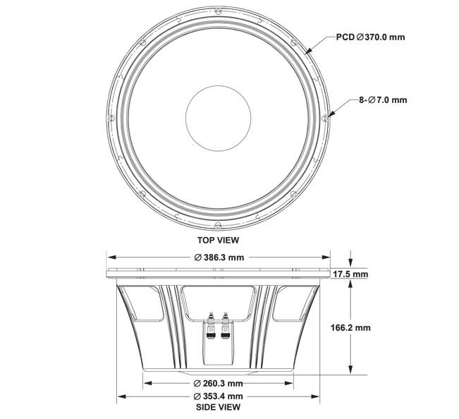 P.Audio GST15-500