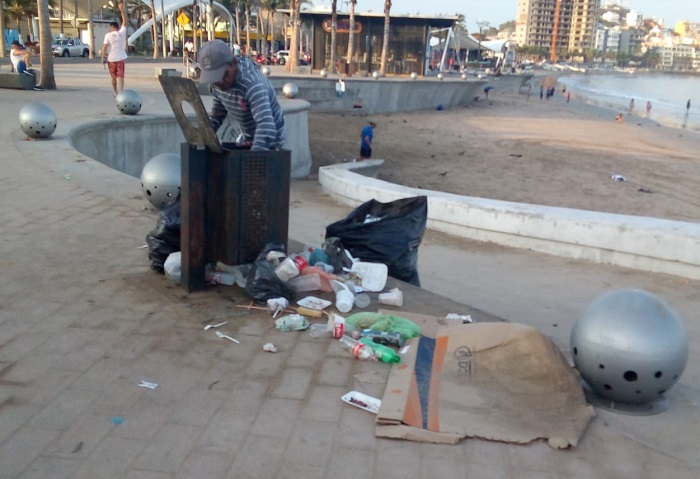 Piden multas a quien tire basura