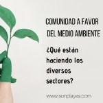 Ciudadanos que actúan a favor del medio ambiente