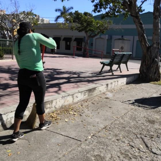 Menos basura en calles
