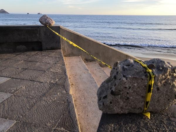 Cierran playas de Mazatlán
