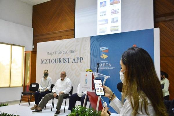 aplicación Mztourist App