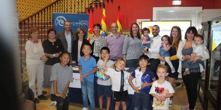Presentación a los medios de la asociación Sonrisas Aragón
