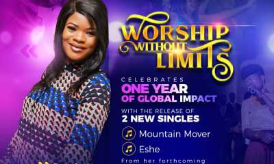 """How Worship Without Limits Concerts Birthed Gospel Music Minister Bolarinde's 2 New Singles - Anticipate """"Mountain Mover"""" & """"Eshe"""""""
