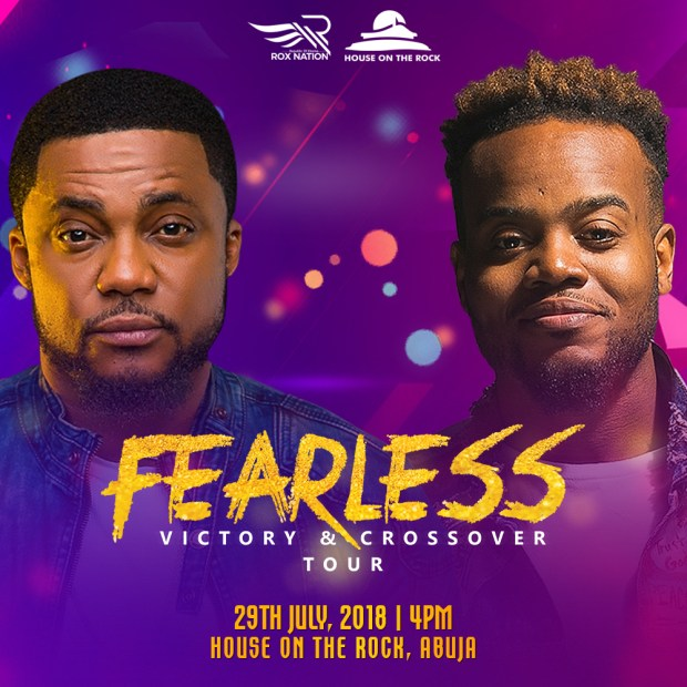 FEARLESS 2018 Tim godfrey Announces Fearless Tour With Travis Greene Across 5 Cities in Nigeria