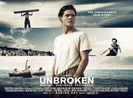 """Movie """" Unbroken """" - Path To Redemption Set To Be Released on September 14"""