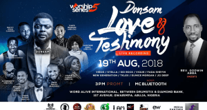 Worship Series 5 with Donsam | Love and Testimonies