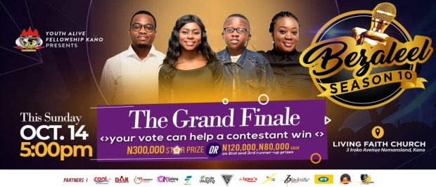 Bezaleel Gospel Music Competition Grand Finale Holds 14Th Oct, 2018