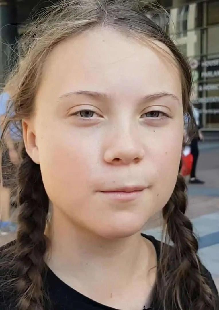 Greta Thunberg, una ragazzina come tante ...