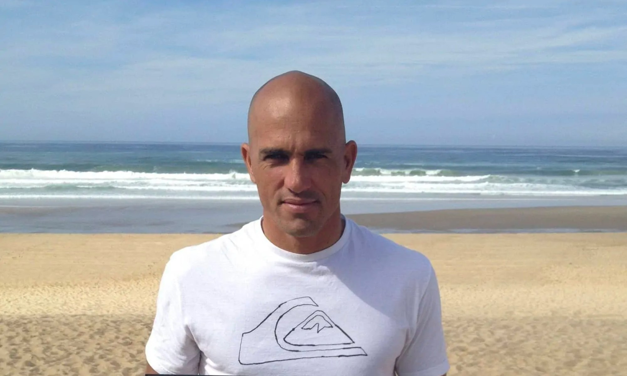 """The King"" ... Kelly Slater"