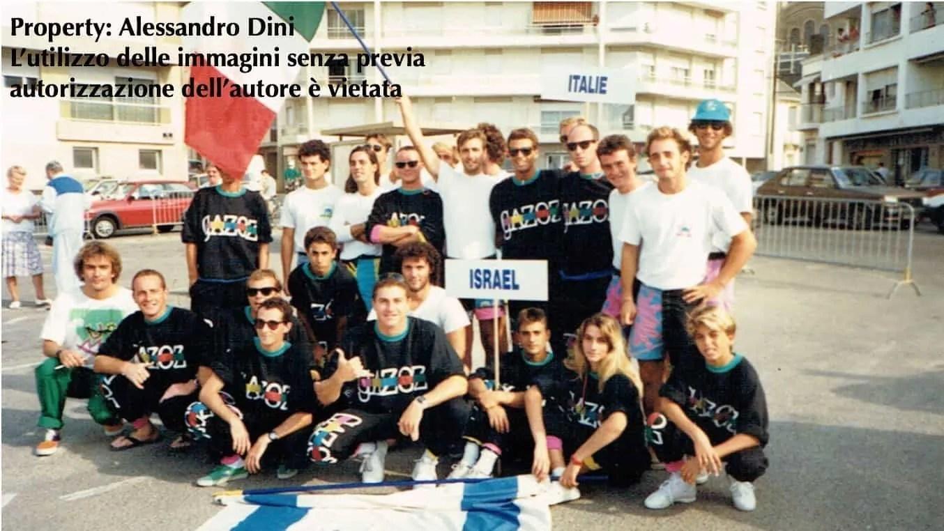CAPITOLO 3 - LA PRIMA VOLTA DELL'ITALIA: EUROSURF 1987 (Les Sables D'Olonne, Francia)