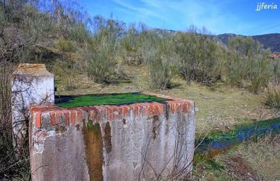 Pilar de la Fontanilla en la Sierra del Molino