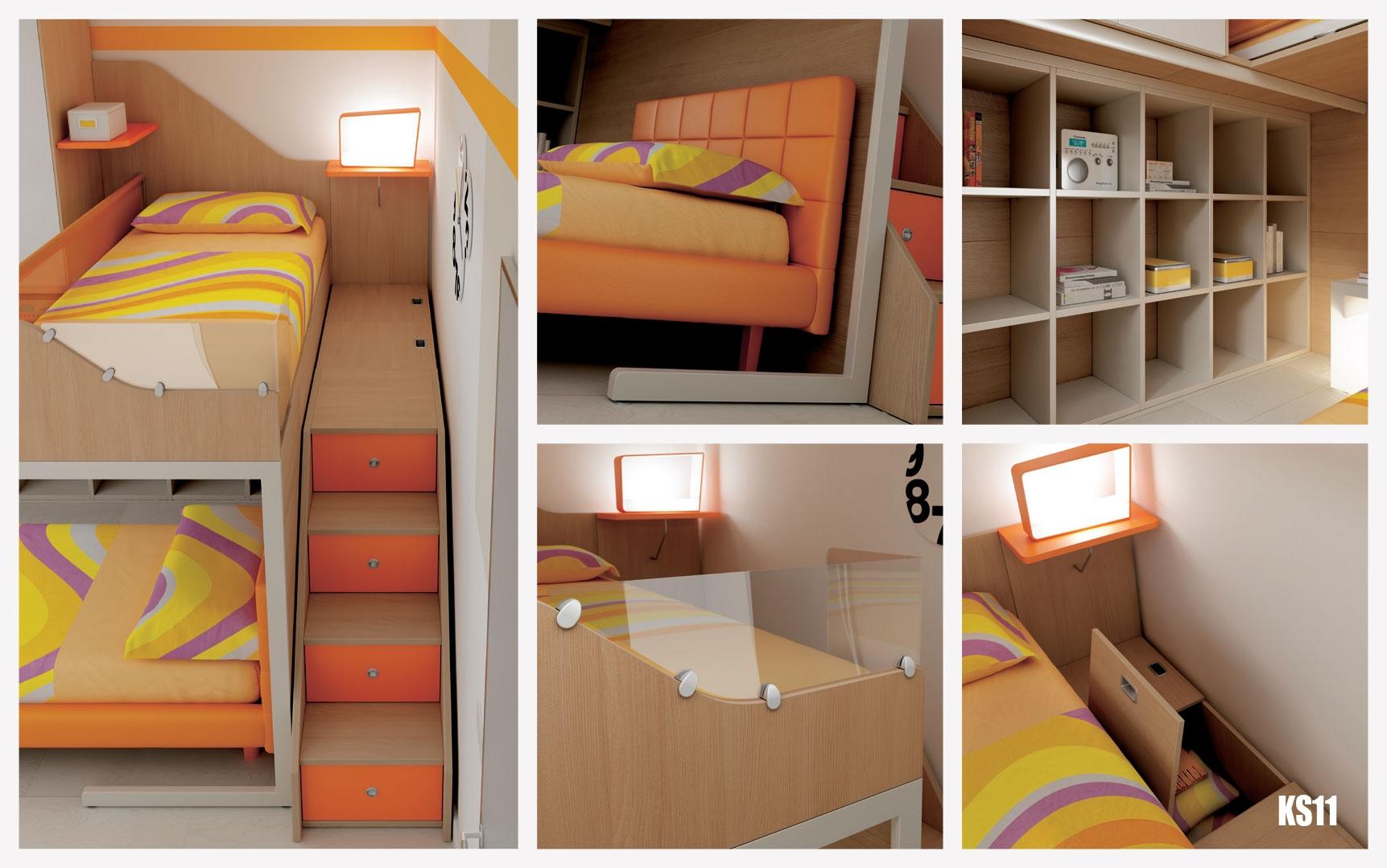 mezzanine chambre mezzanine chambre lit double. Black Bedroom Furniture Sets. Home Design Ideas