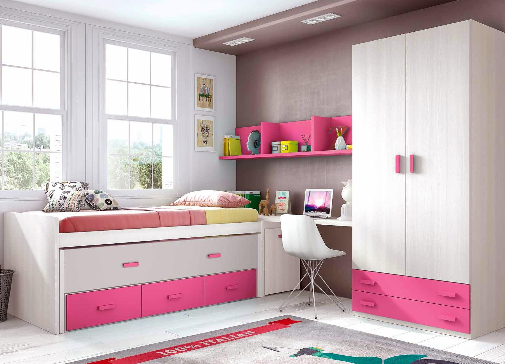 Chambre Petite Fille Moderne