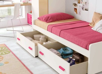 Chambre Enfant Delimite Fille Gara%c2%a7on | Lit Baldaquin Fillette ...