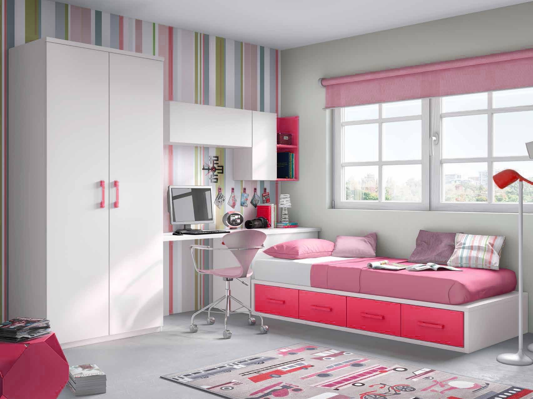 Grande Chambre Pour Ado | Séparer Une Chambre En Deux Sans Cloison 8 ...