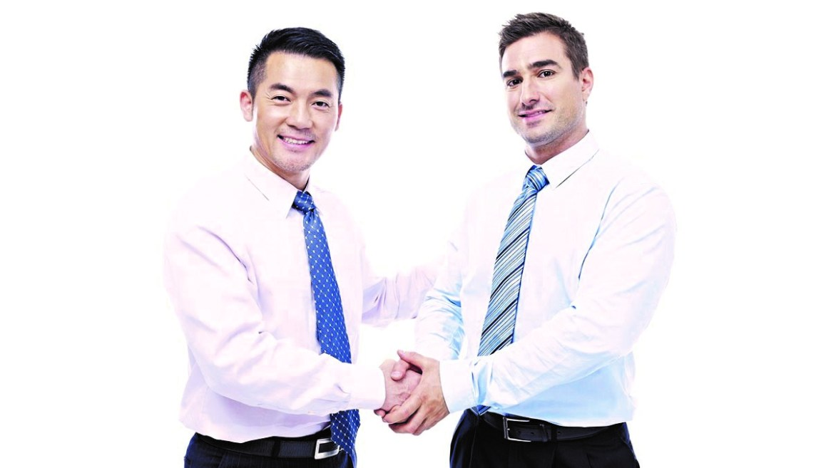 Gain the trust of Western businesspeople