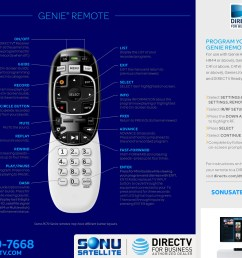 directv rc70h series remote guide [ 2758 x 2121 Pixel ]