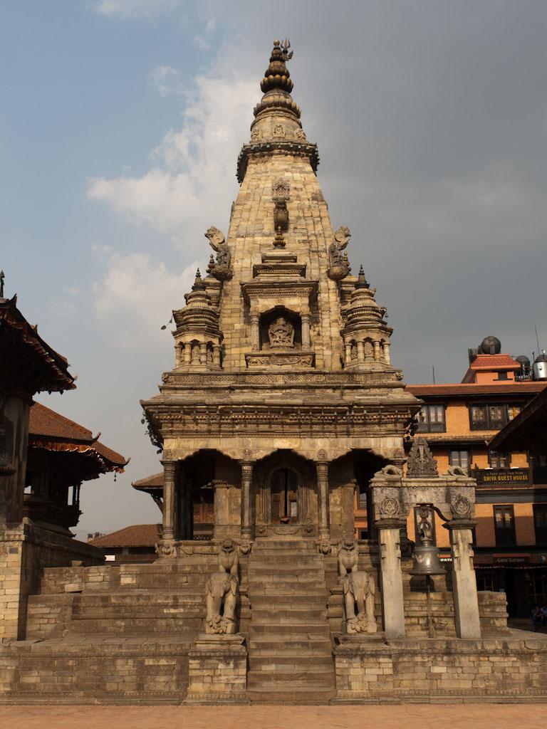 Bhaktapur Nepal Durbar Square And Taumadhi Tole Sonya