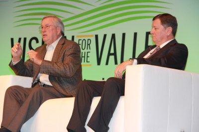 Ret. Rep. Bill Thomas and former state Sen. Dave Cogdill on the Housing, Land Use and Transportation panel