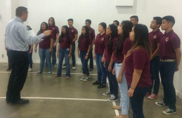 Choir at Prayer Breakfast May 6 2016