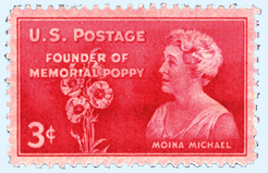 Moina Michael 3 cent stamp