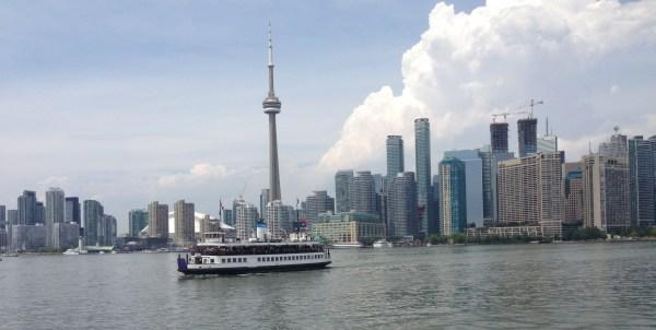 Toronto skyline July 28 2016