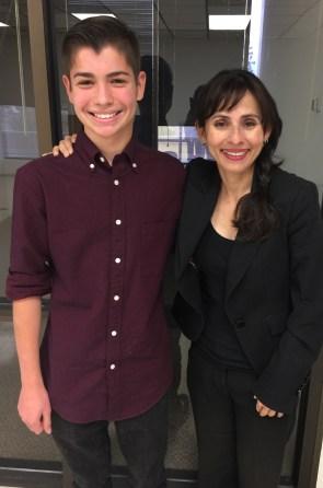 Xavier Castellanos and Sonya Christian
