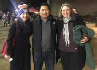 Sonya Christian, Romeo Agbalog, Janet Tarjan