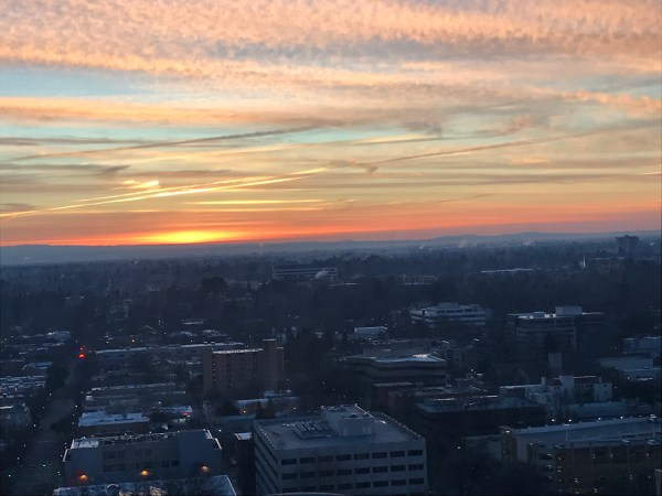 Sunrise in Sacramento 7 15 on Jan 28 2017.JPG
